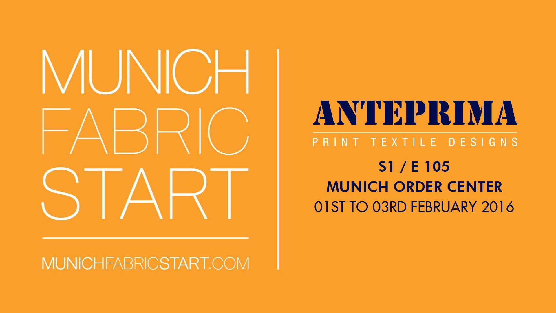 Anteprima @ Munich Fabric Start