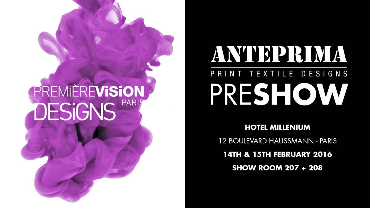 Anteprima Pre-Show Premiere Vision