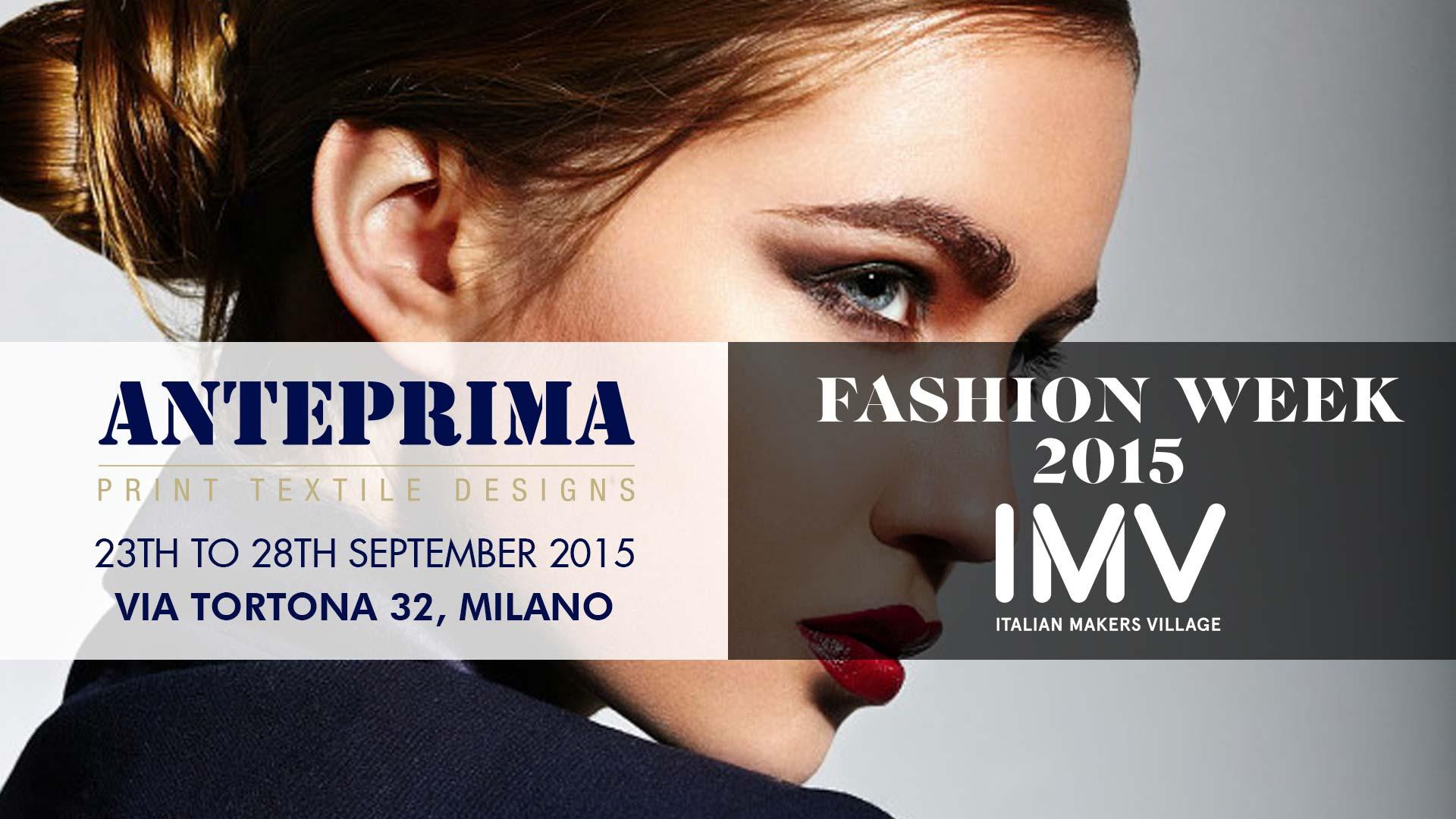 Anteprima @ Milano Fashion Week 2015