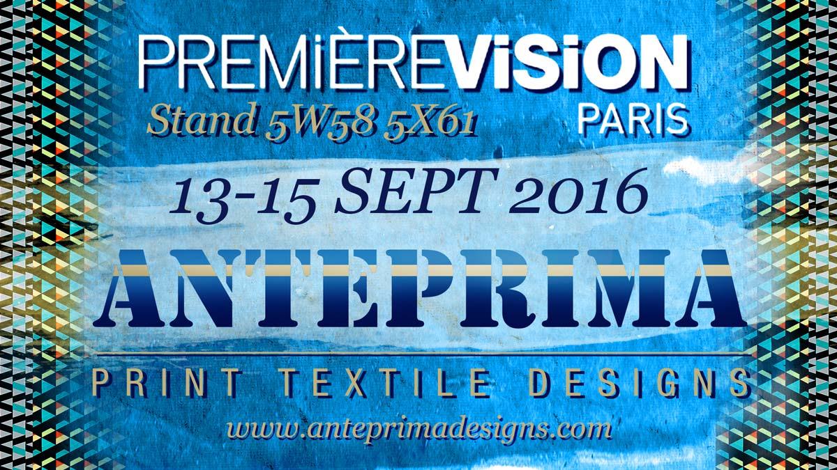 Anteprima @ Première Vision Sept 2016